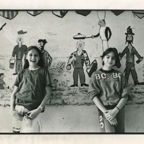 Spanish school at rue de la Pompe, Paris, 1986