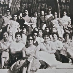 Spanish women arrived in Germany in the early sixties