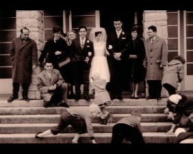 Spanish wedding, Uzwil Church, Swiss 1962
