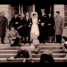 Spanish wedding, Uzwil Church, Swiss 1962