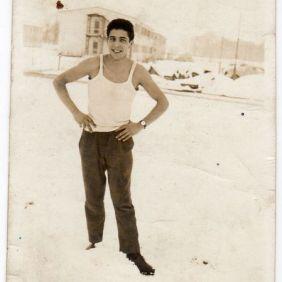 Gonario Ladu, italian migrant. Wolfsburg 1963