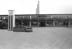 Wolfsburg train station in 1985