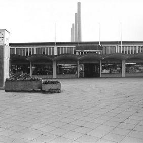 Wolfsburg train station in 1985