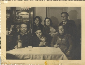 Family of Carlos Iglesias 1958 Madrid