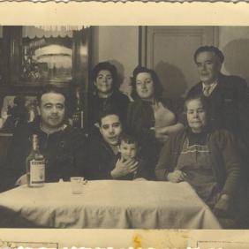 Family of Carlos Iglesias 1958 Madrid