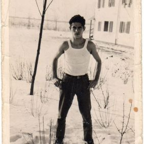 Mario Ladu, Mario Ladu, italian migrant. Wolfsburg 1964