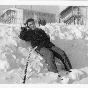 Berliner Brucke, snow_