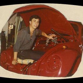 Salvatore Curto, at work.Wolfsburg 1966