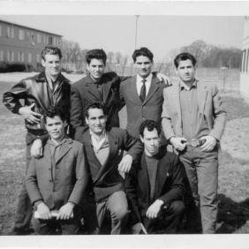 Berliner Brucke, seven Italians
