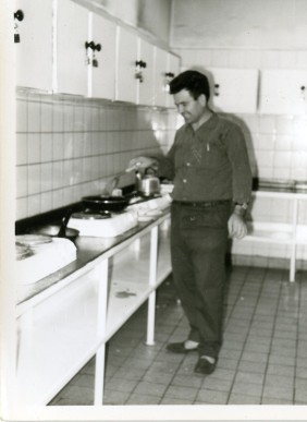 Kitchen at Opel's residence. Nuremberg 1966-1967