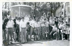 Excursion of Spanish emigrants (Belgium) 1970