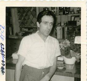 Manuel Ramirez arriving from Limburg to Brussels, 1972.