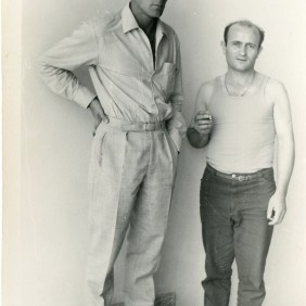 Portrait of two Opel's emigrants from Seville. Nuremberg 1966 – 1967