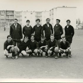 Football team of the Opel's residence. Nuremberg 1966-1967