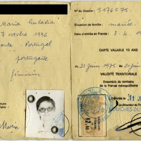 Work permits of Cerejo S. and Mary S. Joseph's parents