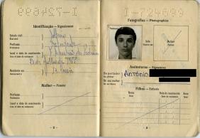 Passport of Joseph and his brother Antonio