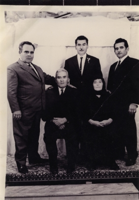 The father, uncles and grandparents of Aphrodite (1960)