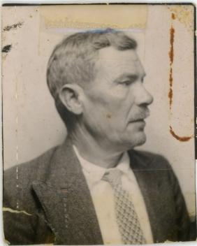Jose Zaragoza, father of Xrissoula, around 1940