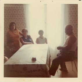 Xrissoula with his father and nephews (1971)