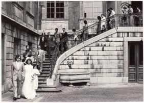 Marriage of Mario Sirotti in Liège in 1974