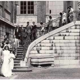 Marriage of Mario Sirotti in Liège in 1974