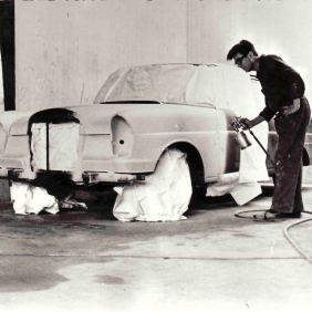 Corubolo Enzo to work at the company Tüscher. Zurich 1960-1964