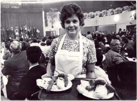 Feast of polenta in Mulhouse in 1976