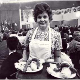 Feast of polenta in Mulhouse in 1976