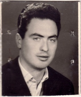 A picture of Bruno Aita before leaving for foreign. 1948-1950