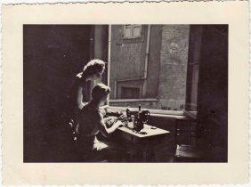 Victorina De Luca to work in Strasbourg late fifties. 1960-1962