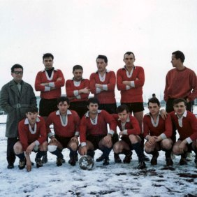 The team was disputing corporate tournaments between employees of Volkswagen. Wolfsburg 1965