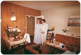 Apartment in East Berlin.1980
