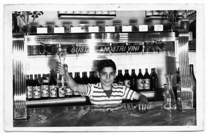 Sabato Alfieri- Here I was 14 years old, working at at a small restaurant and wine bar in Naples for 3 months during my school vacations