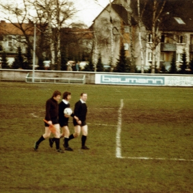 Angelo De Mitri. Teutonia vs. Bodenteich, friendly game, 1981